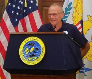 FEMA Coordinating Officer William Vogel (Marina Livingston photo)