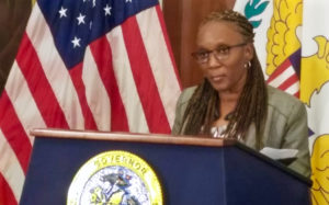 Commissioner of Human Services Felecia Blyden.. (File photo; Jamie Leonard)