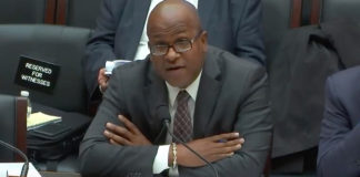 Julio Rhymer testifies before the U.S. House of Representatives Energy Committee in November, while still executive director of the V.I. Water and Power Authority.