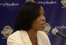 Delegate to Congress Stacey Plaskett (File photo)
