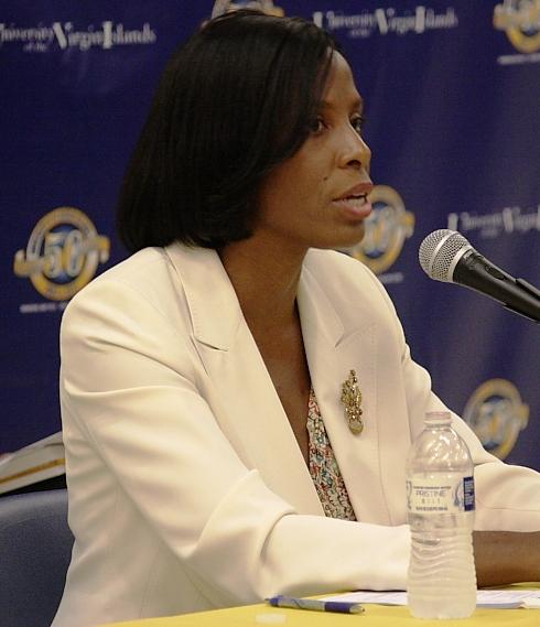 Delegate to Congress Stacey Plaskett (File photo)