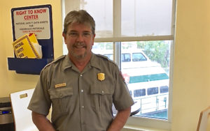 VINP Darrell Echols is the acting superintendent at the V.I. National Park.