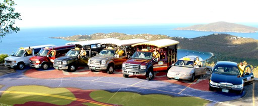 Taxi cabs on St. Thomas (File photo)