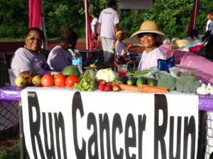 Supporters relax at the 2016 Relay for Life on St. Croix.