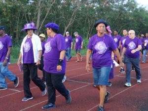 Men, women and children participate in 2016 Relay for Life on St. Croix.
