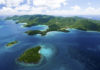 Honeymoon and Hawksnest beaches at Virgin Islands National Park, St. John, U.S. Virgin Islands. (National Park Service photo)