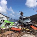 Photo taken in September 2017 shows hurricane damaged property on St. John.