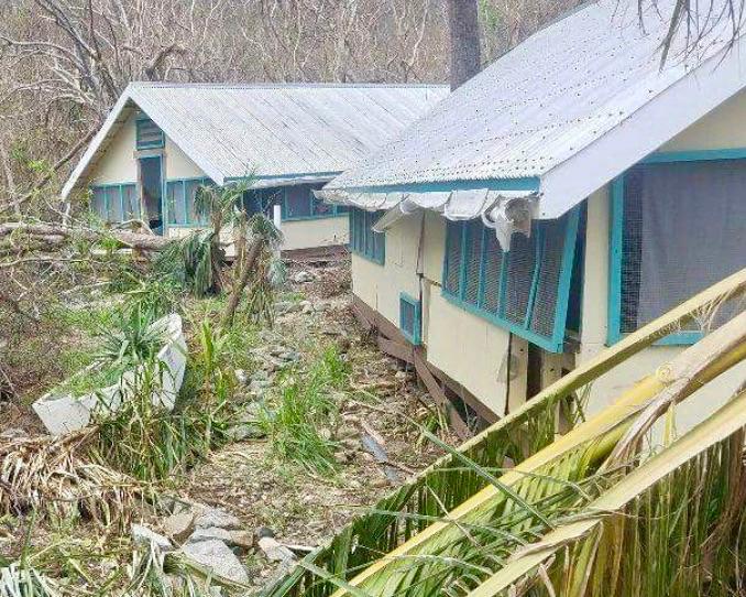 Clarification: FEMA Prepares Grant to Restore St. John Research Station