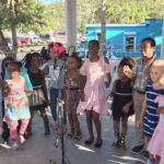 The All Island Children's Choir performs Monday at the Cruz Bay celebration of Martin Luther King Jr.