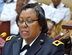 Adj. Gen. Deborah Howell (File photo)