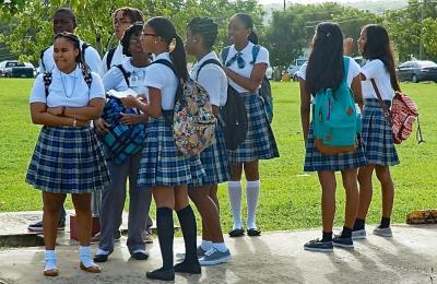 St. Croix Educational Complex students return to school