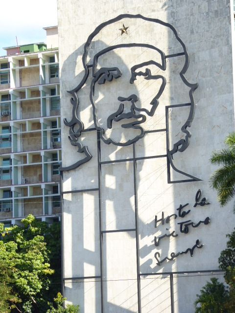 Images of Che Guevara appear everywhere across the country