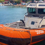 A Coast Guard Special Purpose Craft Law Enforcement boat – known as a SPCLE – in St. Thomas. (File photo)