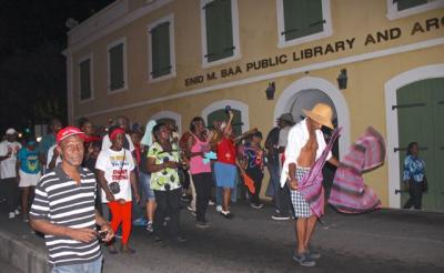 Quelbe Tramp in Charlotte Amalie