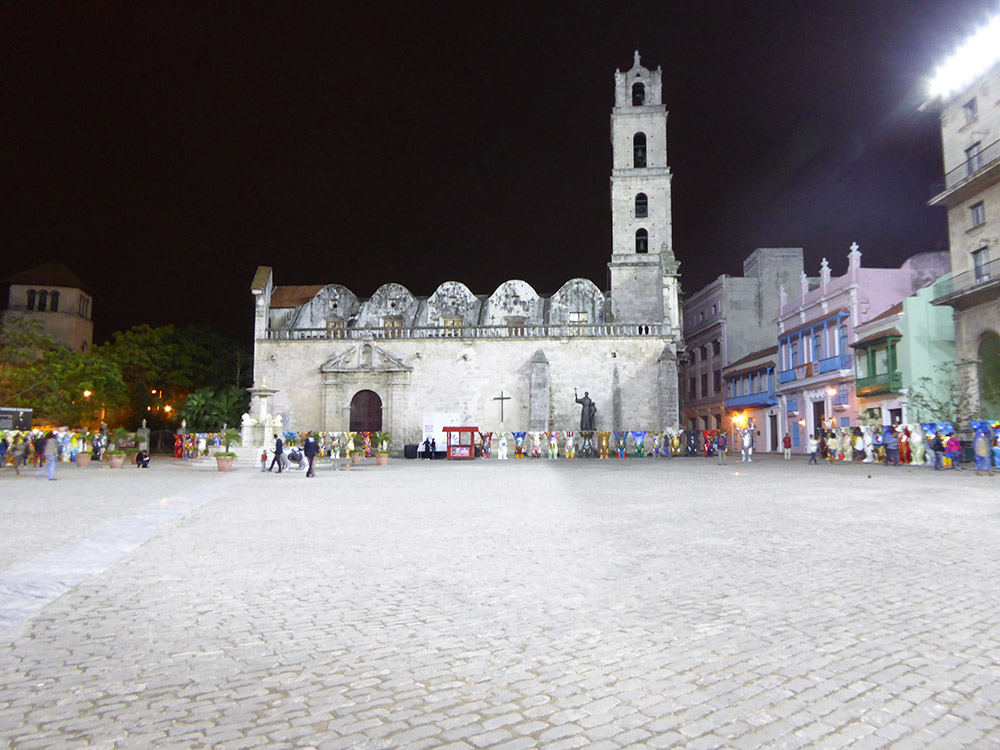 St. Francis Square in Old Havana