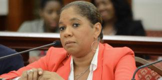 Tanya-Marie Singh testifies before the Senate in 2016. (File photo)