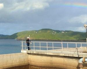 Veolia wastewater treatment plant in Saint-Thomas.  (Photo from Veolia website)