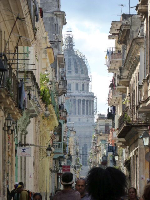 Capitol building in Old Havana
