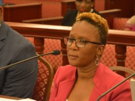 Commissioner of Human Services Felicia Blyden. (File photo)
