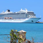 The cruise ship Viking Sea in port in Frederiksted St. Croix in March. (Bill Kossler photo)