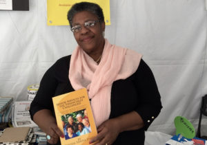 Davida Siwisa James at the LA Times Festival of Books, April 22.
