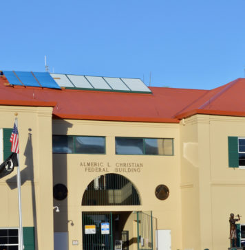 The District Court building on St. Croix. (File photo)