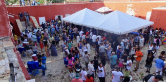 Hundreds gather Sunday in Fort Frederik for the Reef Responsible Fish Fry, the final event of the 2018 St. Croix Food and Wine Experience.