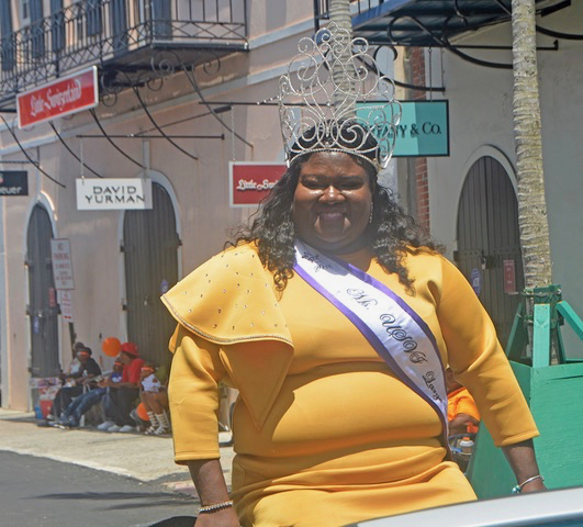 Shaniqua Charles is this year's USVI Large and in Charge. (Gerard Sperry photo)