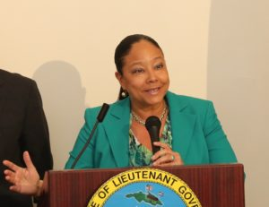 Addelita Cancryn Junior High School Principal Lisa Hassell-Forde File photo from V.I. Department of Education)