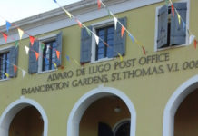 The Alvaro deLugo Post Office.