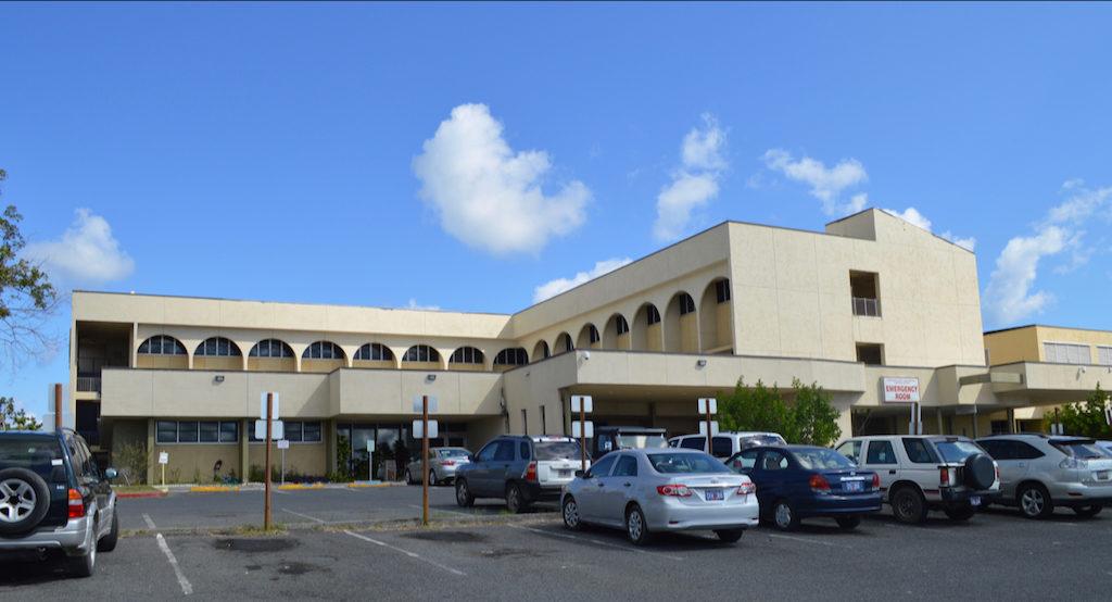 Gov. Juan F. Luis Hospital in March 2018. (Bill Kossler photo)