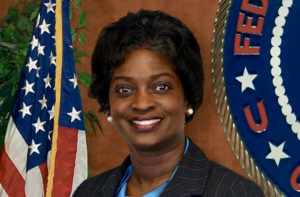 Former FCC Commissioner Mignon Clyburn was instrumental in obtaining the new funding, according to Plaskett. (FCC photo)