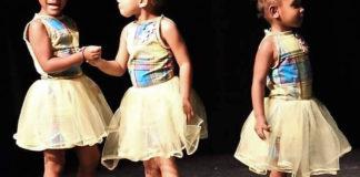 Dynamic Dancers Noelle Boynes, Jahslynn Clendinen, and A'Jehnyah Bramble (Photo by Michele Roy DuBois)