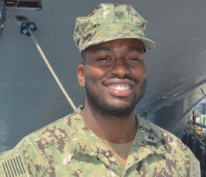 Clarence Matthews (Photo by Mass Communication Specialist 1st Class Heidi Cheek)
