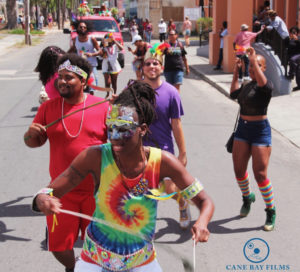 Revelers enjoy the parade. (Photo provided by Johanna Bermùdez-Ruiz and Cane Bay Films)