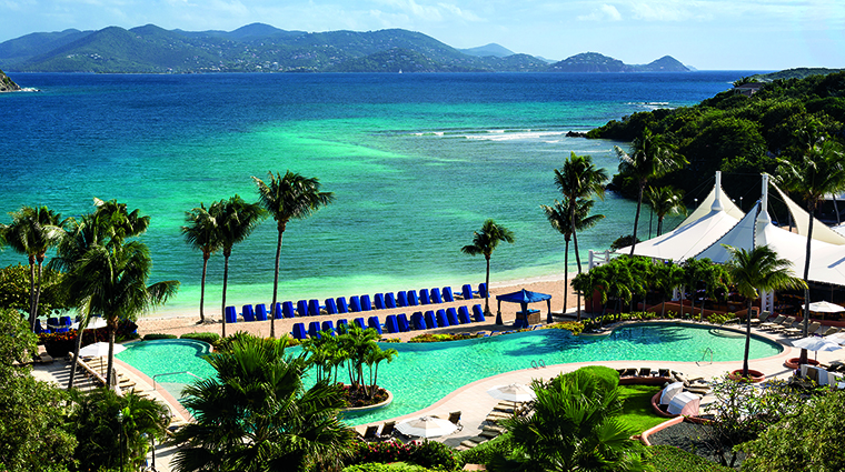 The St. Thomas Great Bay Ritz Carlton is not operating under the Ritz Carlton banner but the facility is open as Great Bay Resort.