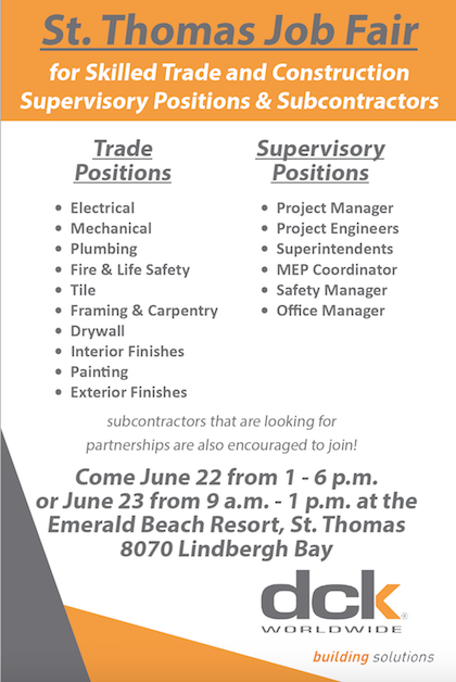 dck Job Fair Ad | St  Thomas Source