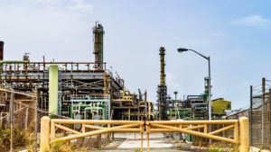 Limetree Bay might restart the shuttered Hovensa refinery. (Government House photo)