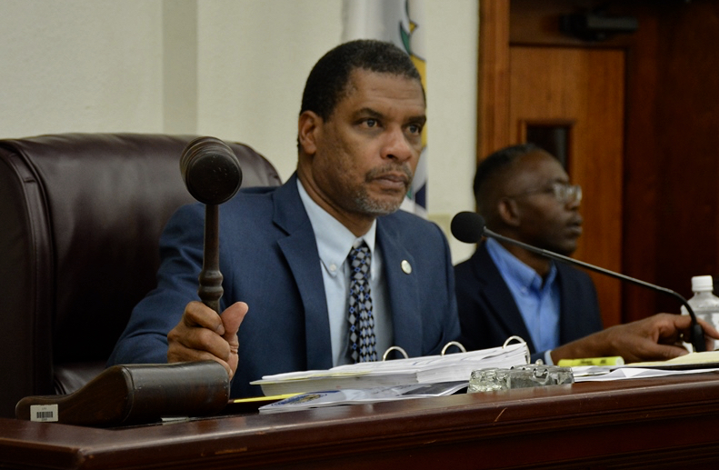 Senate Finance Committee Chairman Kurt Vialet (File photo by the V.I. Legislature)