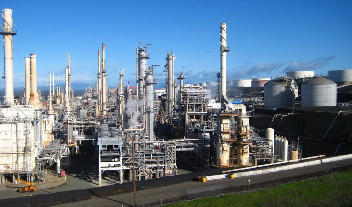 Limetree Oil Refinery (File photo)
