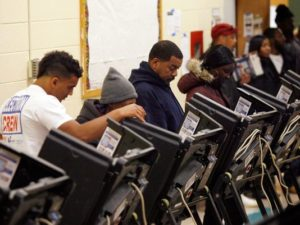 Voters go to the polls in 2018. (Source file photo)