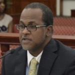 Outgoing Budget Director Julio Rhymer (File photo by Barry Leerdam, V.I. Legislature)