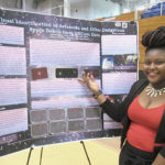 Lennycia Finley, a 15-year-old high schoo student, is gathering data on asteroids and space debris via some of the world's largest telescopes.