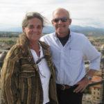 Cristina and John Kessler in Tuscany in 2002. (Family photo)