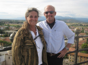 Cristina and John Kessler in Tuscany in 2002. (Family photo)