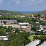 The groundwater treatment plant at the U.S. Virgin Islands Department of Education Curriculum Center in St. Thomas. (EPA photo)