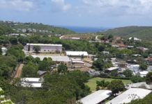 Location of the groundwater treatment plant at the U.S. Virgin Islands Department of Education Curriculum Center on St. Thomas (File photo provided by the EPA)