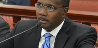 WICO Executive Director Clifford Graham testified in 2018 before the Senate. (File photo)
