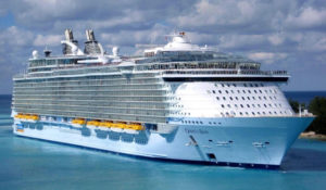 Royal Caribbean's mega cruise ship, Oasis of the Seas. (Royal Caribbean photo)