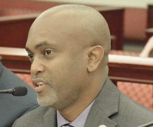 WAPA Chief Operating Officer Clinton Hedrington. (File photo by Barry Leerdman, V.I. Legislature)